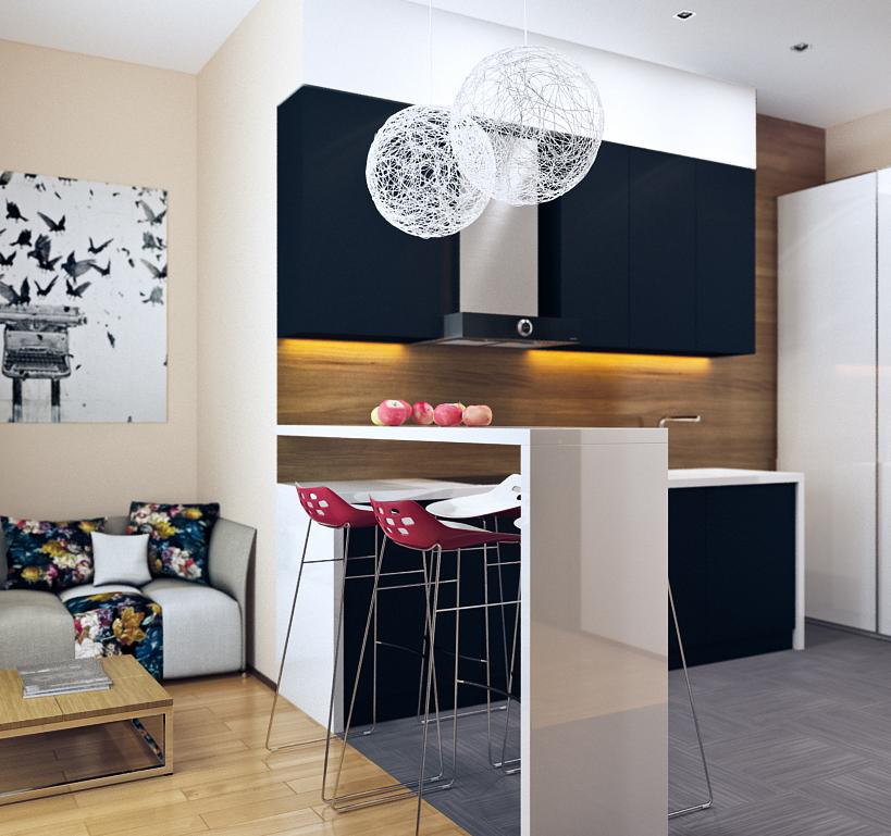 12 modern eat in kitchen designs 4