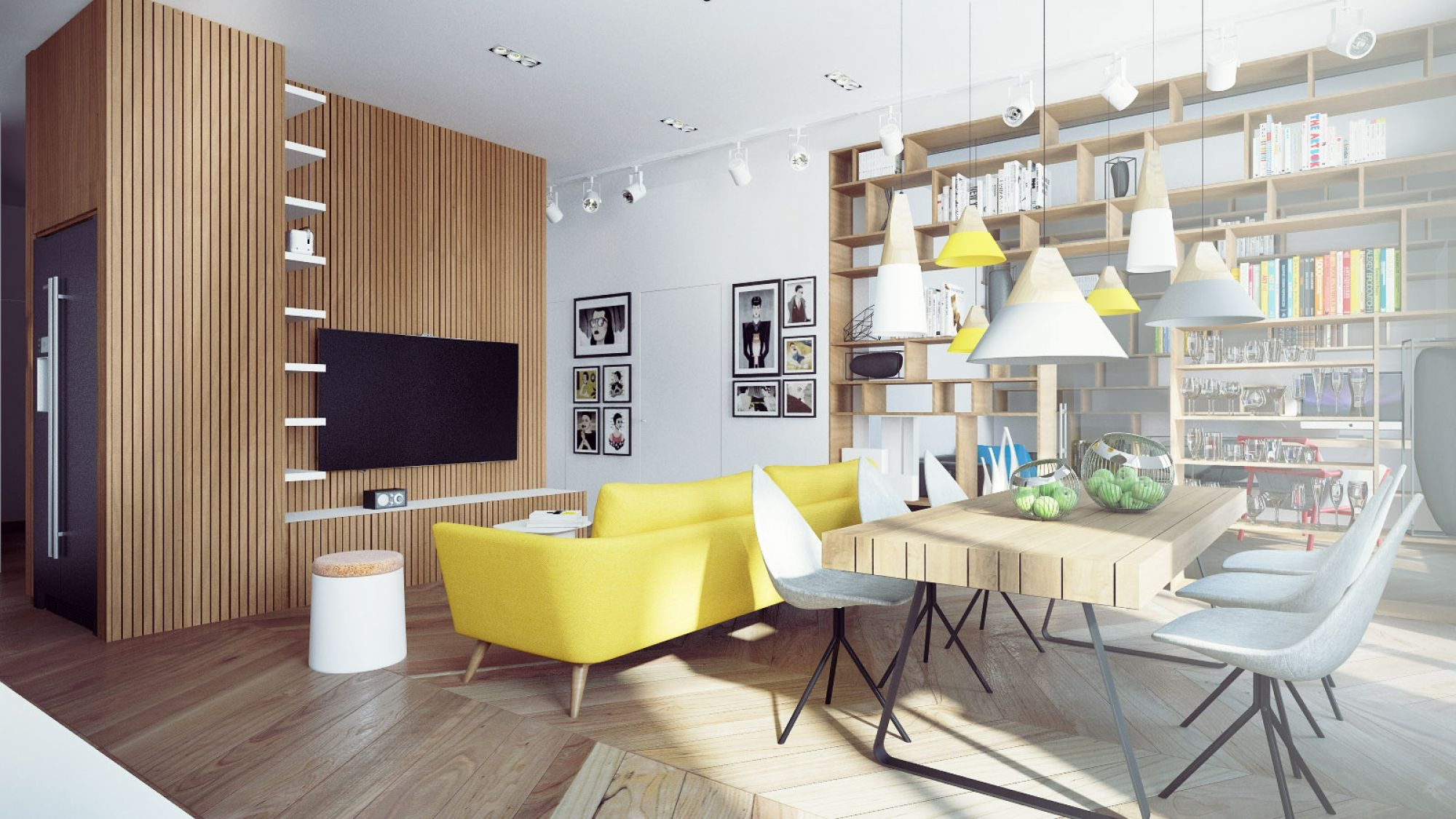 A number of dining designs present