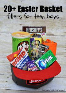 20+ Easter Basket fillers for teen boys