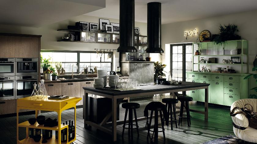 The ideal kitchens for both small and large spaces