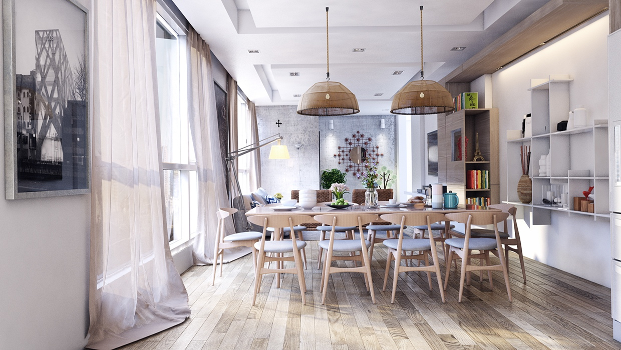 cool-dining-room-design-for-stylish-entertaining-1