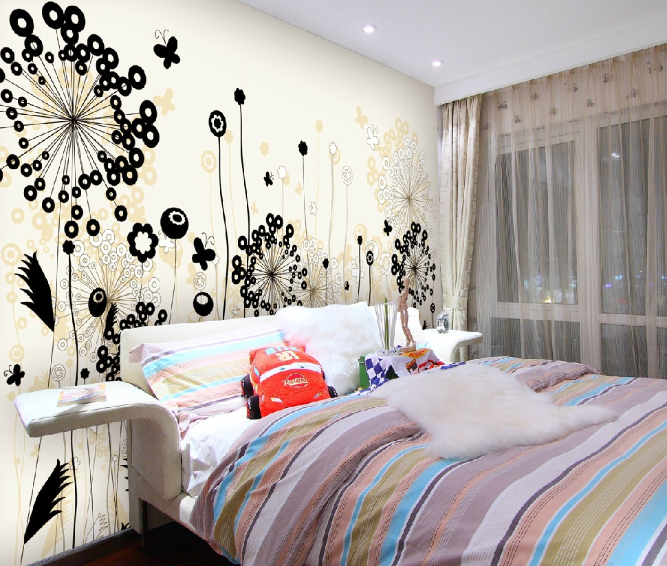 Get a close look at the fashionable wall coverings from china