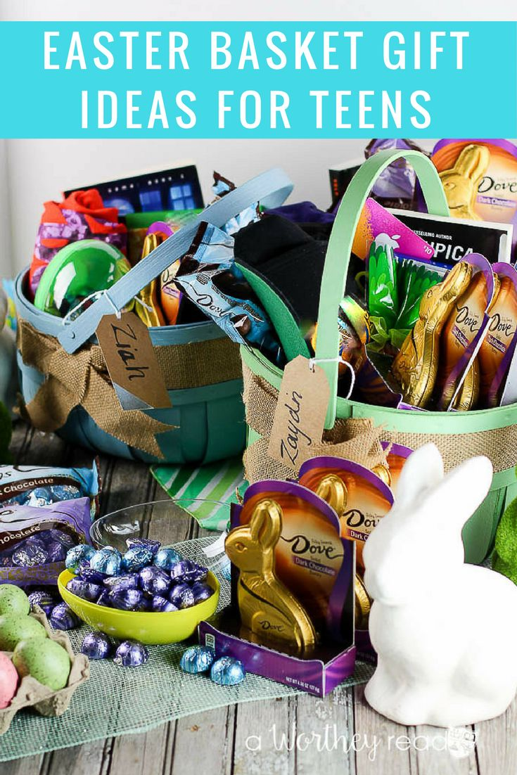 Gift basket ideas for easter its easter time ive rounded up a list of ideas your teen boys will love negle Gallery