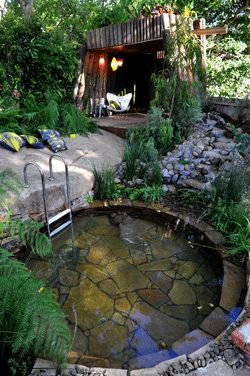 60 most soak yourself in the relaxing hot stone bath - Garten jacuzzi ...