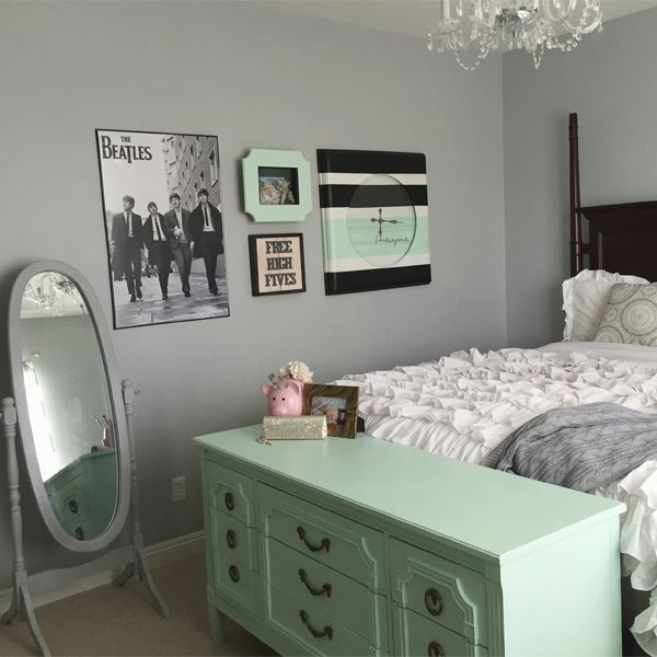 20+ Decorating a mint bedroom!