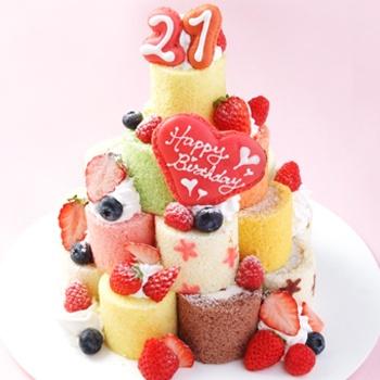 mini roll cake gift set HAPPYになる贈り物♪ ミニロールケーキセット
