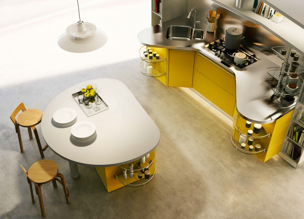 The kitchen for the modern people unveiled