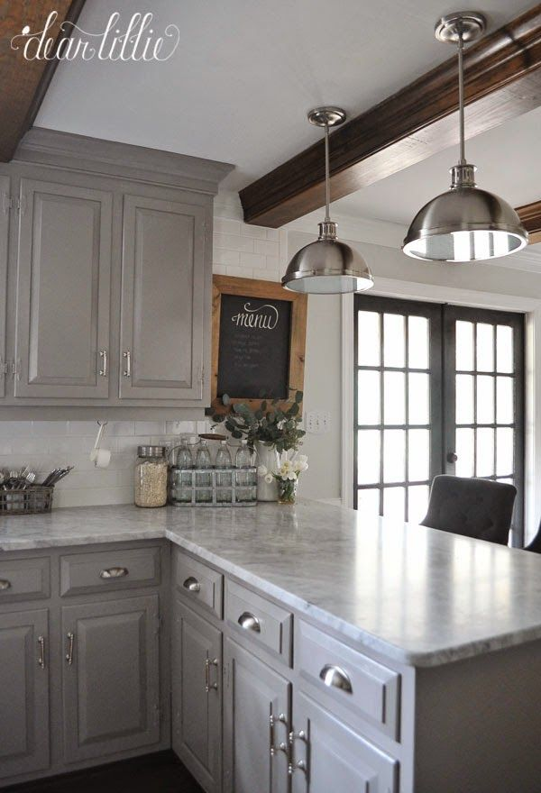 Best 25 Grey Cabinets Ideas On Pinterest Gray And White Kitchen