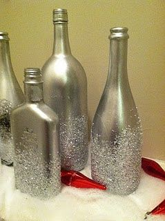 Empty bottle, glass & jar crafts