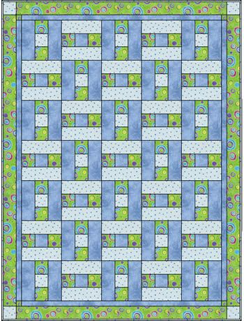 Quilt Patterns With 3 Fabrics : Fabric quilt designs