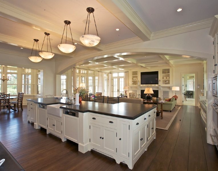 Design Ideas for making kitchen living space combos a great place