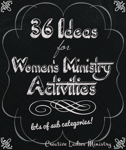 christian womens meeting ideas Program ideas for your self-help do you have a basically healthy support group that needs some new ideas of from a guide for women's recovery groups by.