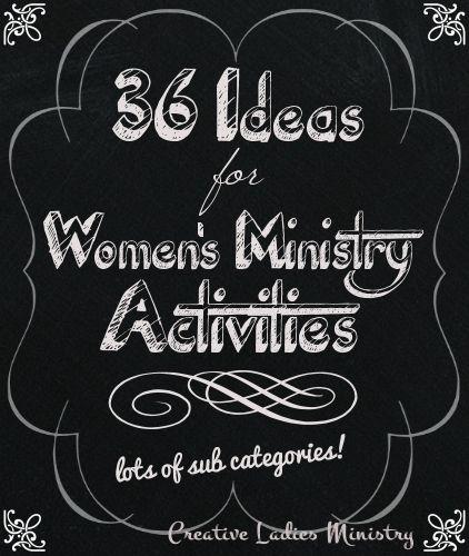 Women ministry activities