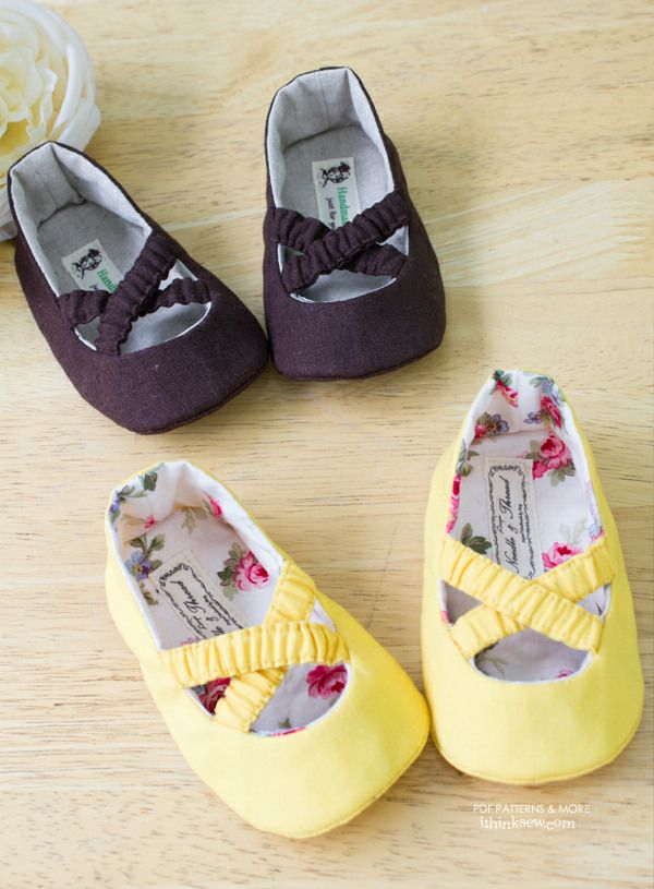 Baby shoes making and patterns