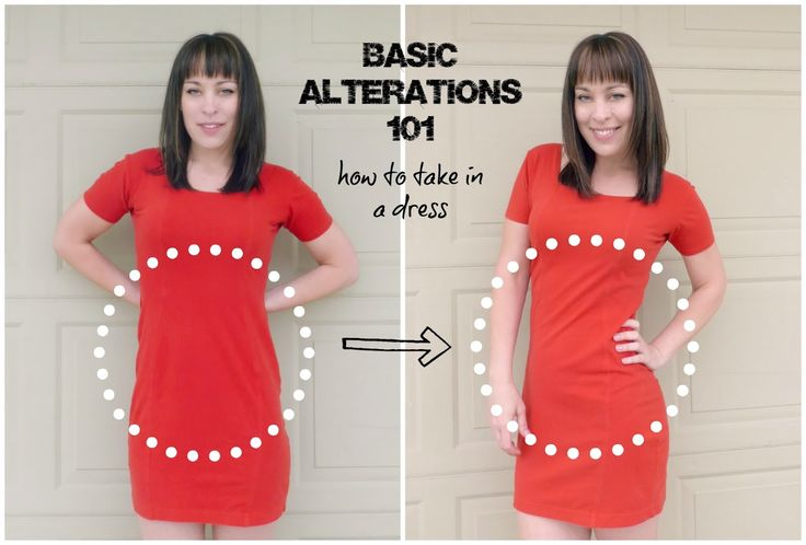 How to Take In The Sides Of Your Dress – Learning Some New Basic Alterations Will Change Your Style