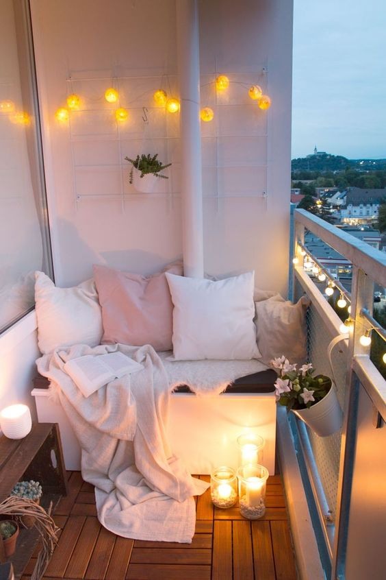 Creative Decoration Ideas For Small Balconies