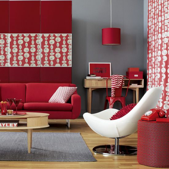 Most Stylish Decorations Of Red Color