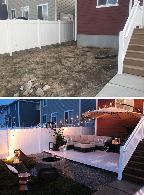 Before - After Garden Renovation Ideas