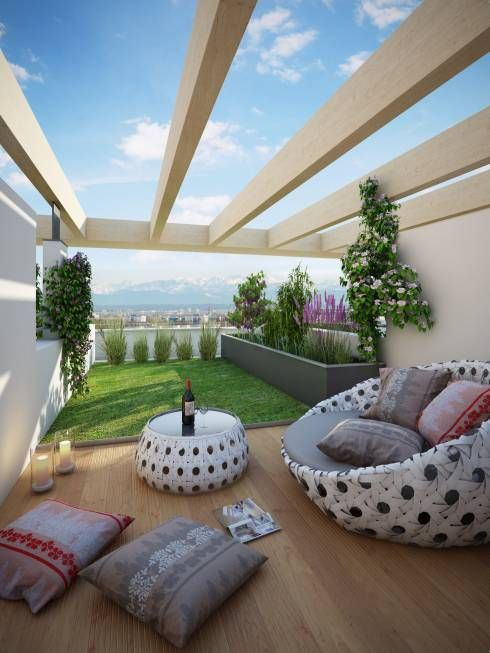 The Most Beautiful Decoration Recommendations For Terraces And Balconies