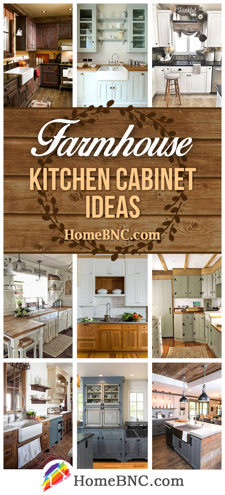 Warm Kitchen Cabinets For Farmhouse Lovers