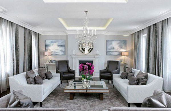 Different Color Alternatives For Grey Living Rooms