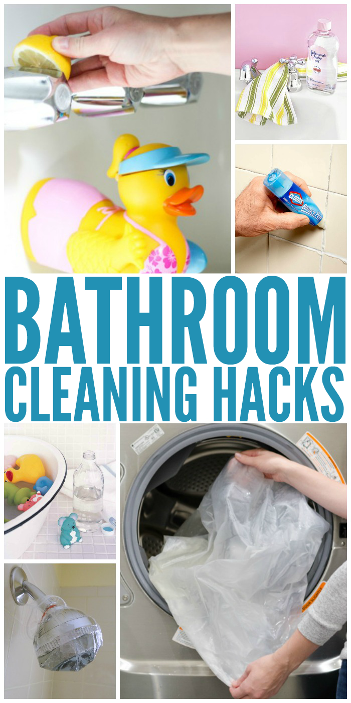 Time And Money Saving Bathroom Hacks
