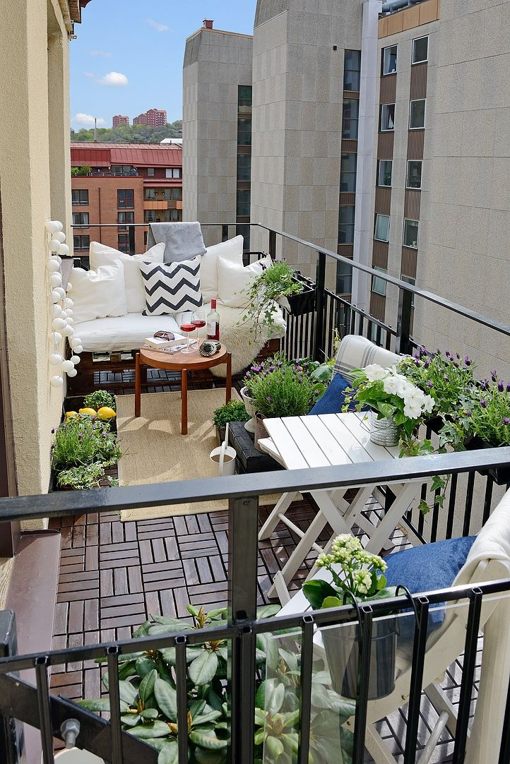 Say Hello To The Summer With A Perfect Balcony