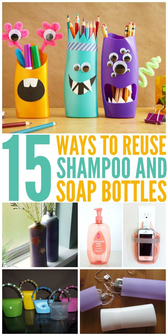 DIY Decoration Ideas From Shampoo Boxes