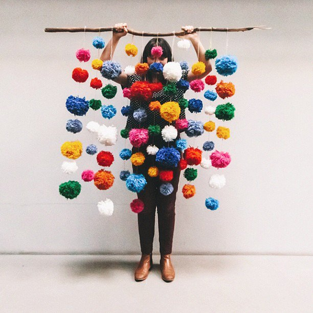 Great Ideas You Can Do With Pompoms