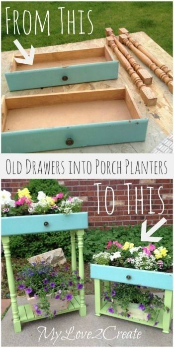 Ideas For Reusing Your Old Drawers