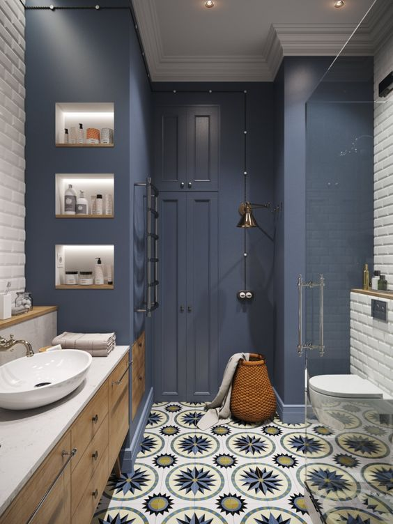 Choose the Best Wall Color For Bathroom