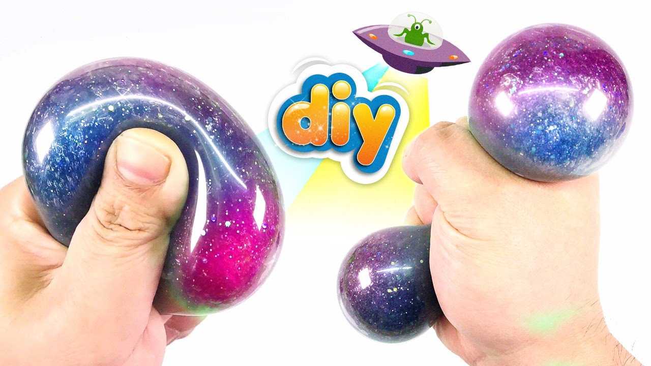 How To Make Squishy Stress Ball In An Easy Way