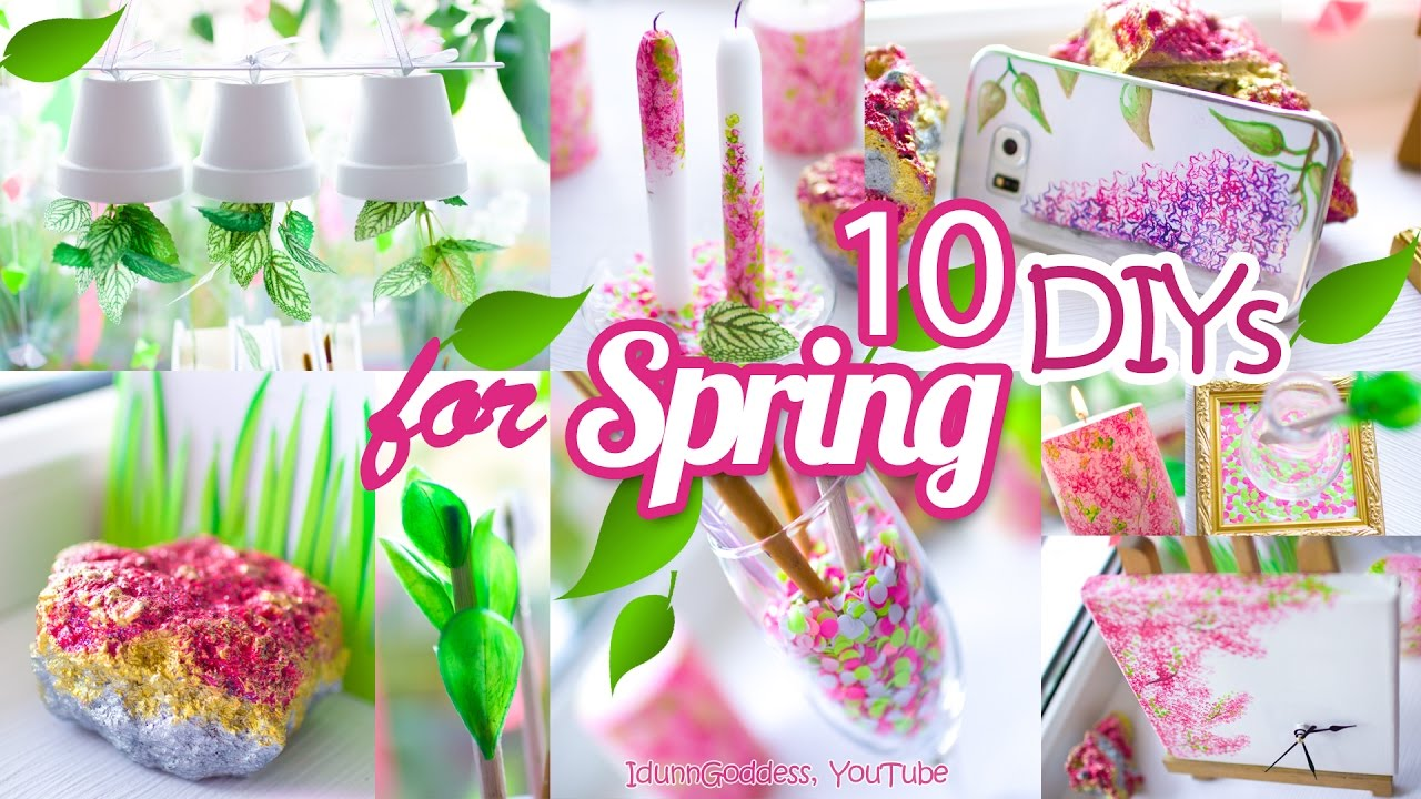 Home Decoration Ideas For Spring Months