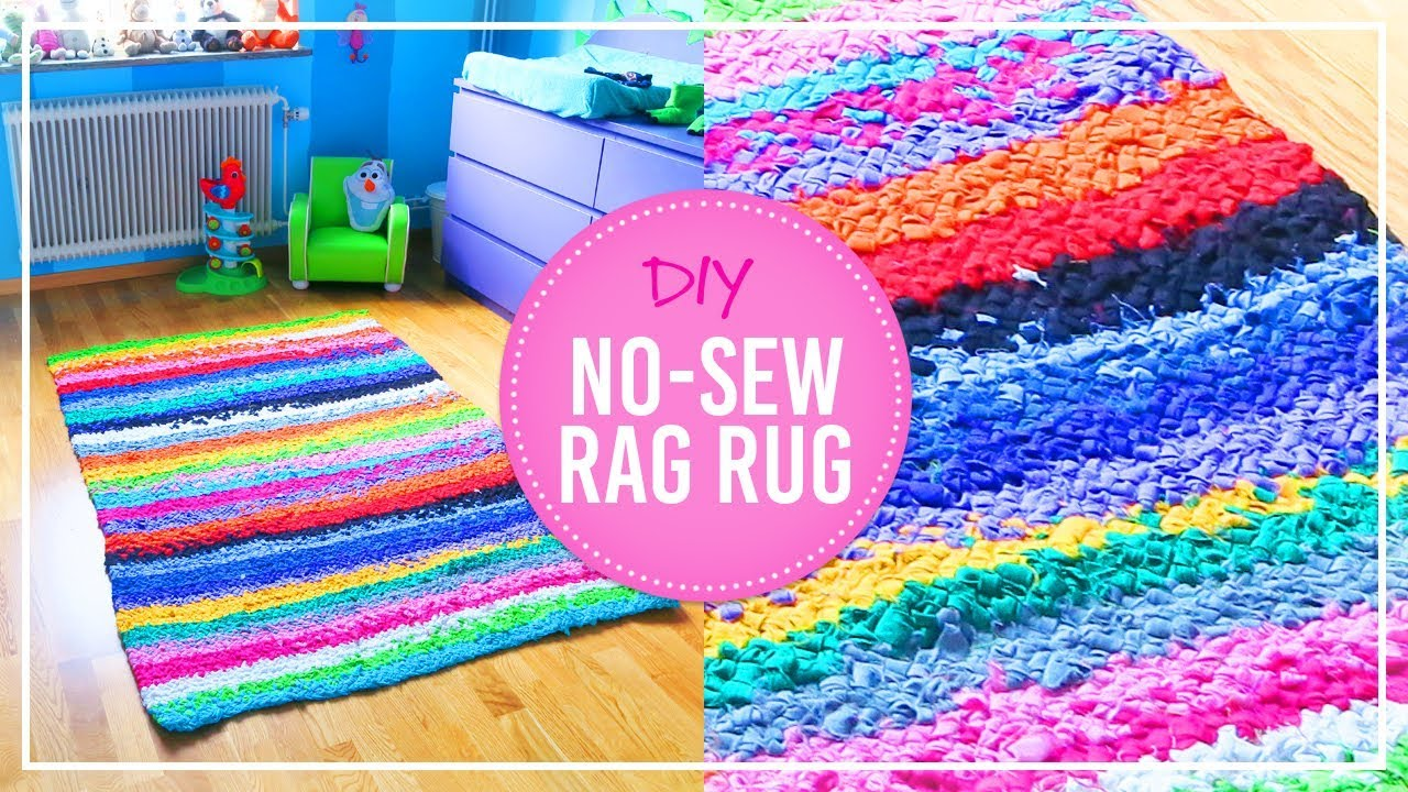 Stylish Rug DIY Project With No Sewing