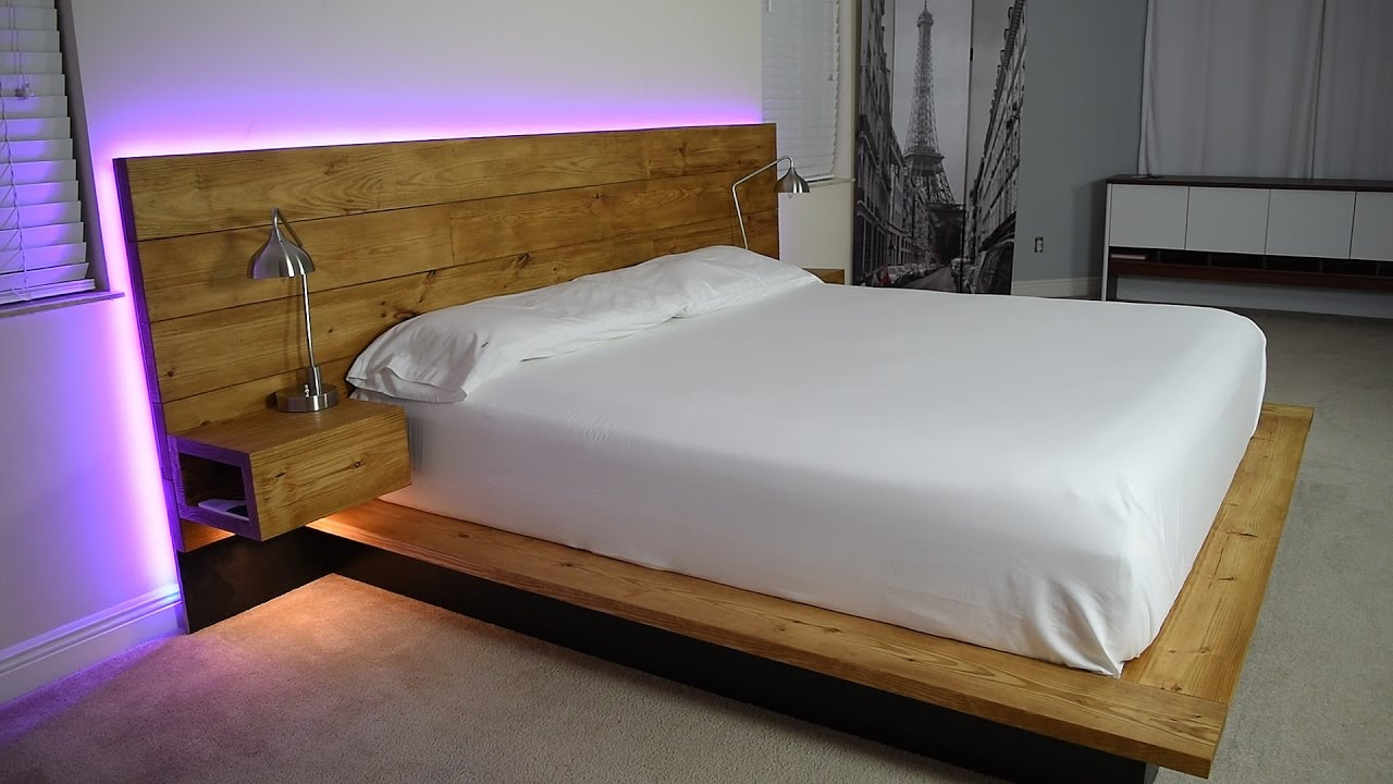 Make Easy And Stylish Platform Beds At Home