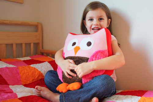 Make These Sweet Owl Pillows In An Easy Way