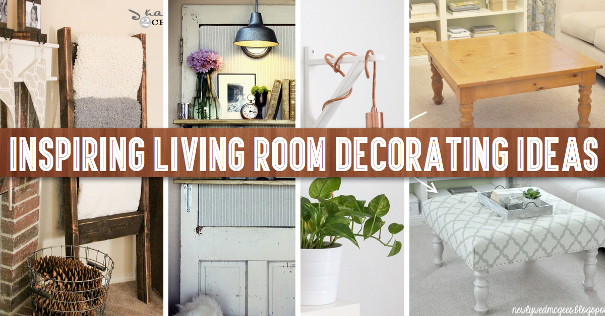 The Latest DIY Projects For Living Room Decoration