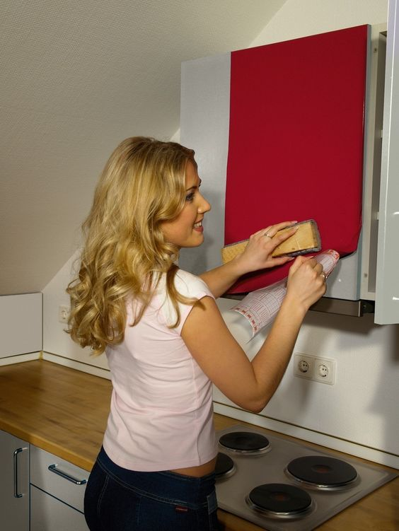 Give A New Look To Your Cabinets With Sticky Foils