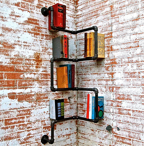 Stylish Do-It-Yourself Bookshelf Ideas