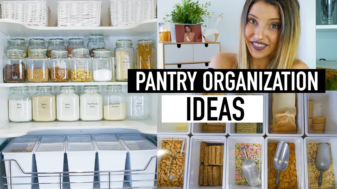 Clever Clues For A More Organized Pantry