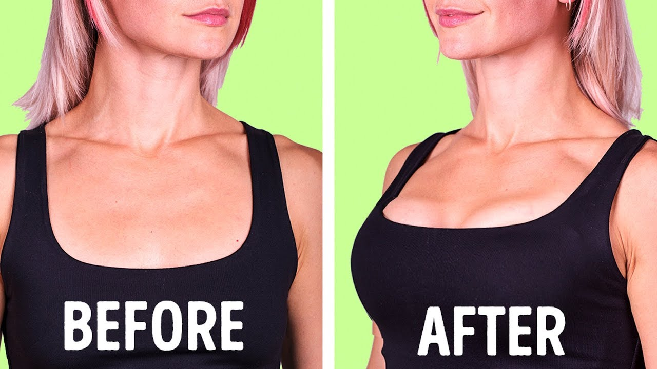 You Can Make Your Bust More Beautiful by Doing These Exercises