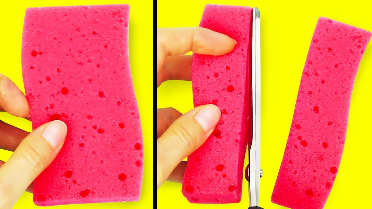 Alternative Sponge Usage Ideas Which Can be Very Handy