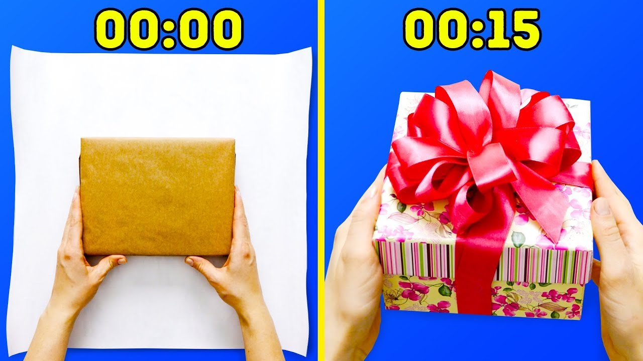 Easiest Gift Wrapping Ideas for Lazy People