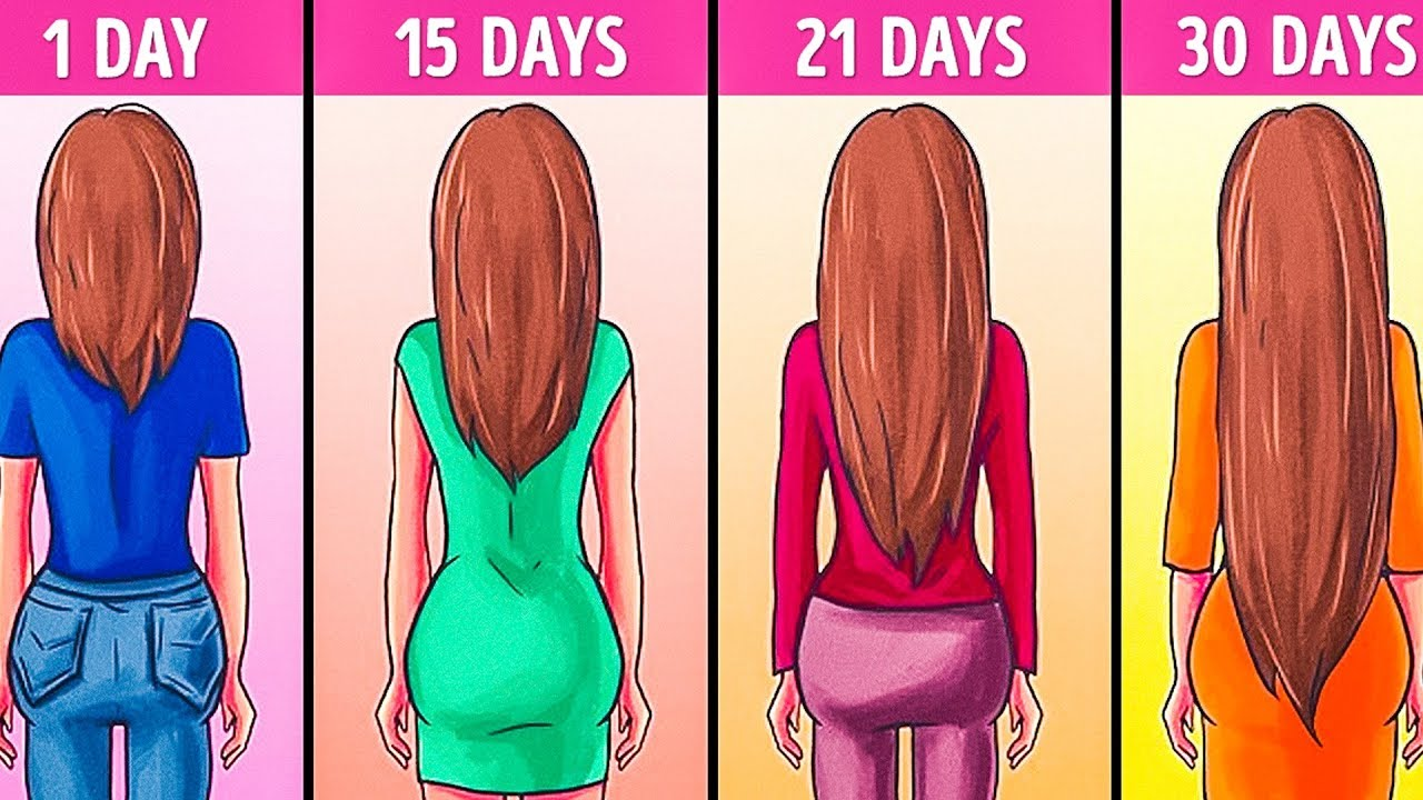 By Using these Methods Your Hair will Grow Fast and Healthy