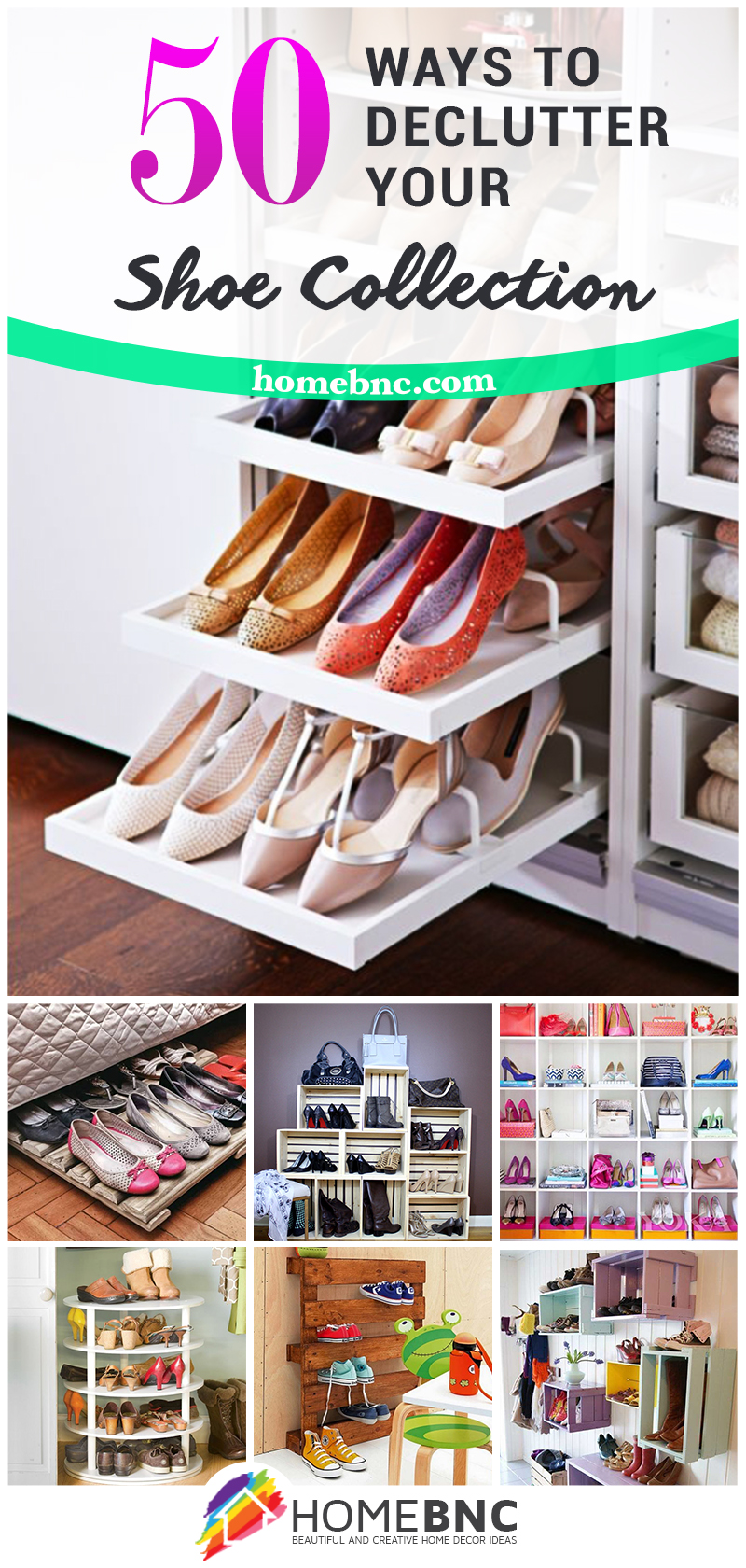 Great Shoe Organization Ideas For Small Places